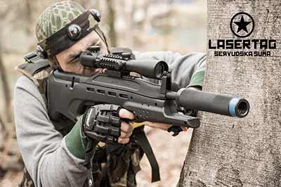 Tactical laser tag Šervudska šuma Zagreb