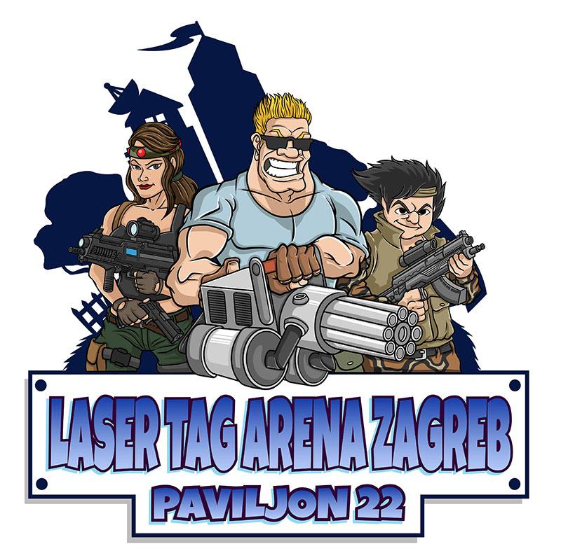 Laser tag Arena Zagreb PAVILJON 22 Velesajam